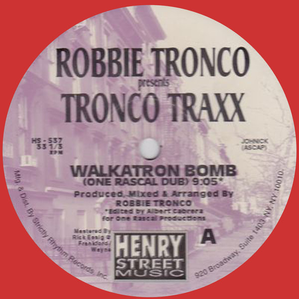Robbie tronco tronco traxx robbie tronco presents for Classic house grooves dope jams nyc